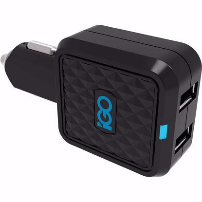 Picture of Trade iGo Dual USB 4.2A Car Charger in Black