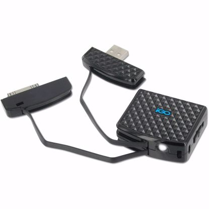 Picture of Trade iGo Charge Anytime 500mAh Portable Charger for Apple 30 Pin Devices in Black