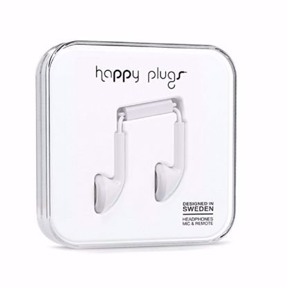 Picture of Trade Happy Plugs Earbud Wired Earphones in White