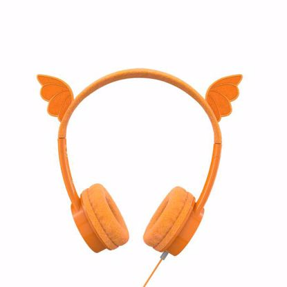 Picture of iFrogz iFrogz Little Rockerz Costume Dragon Headphones in Orange